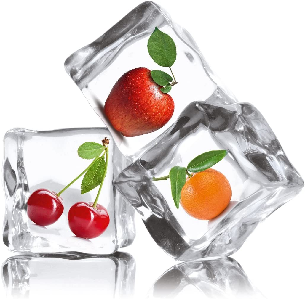 Eurographics Deco Glass DT20 Dgd-Trend Frozen Fruit, 20 x 20 CM