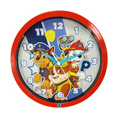 MZ Berger PPC136 8 in. Paw Patrol Wall Clock: Electronics