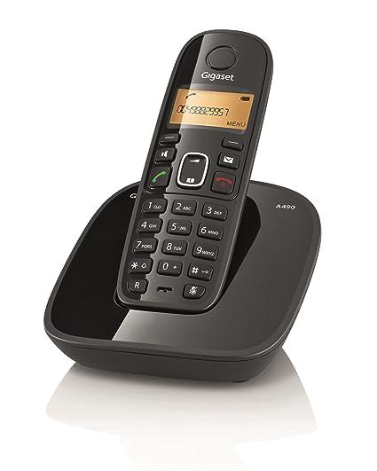 gigaset a490 cordless phone black amazon in electronics rh amazon in