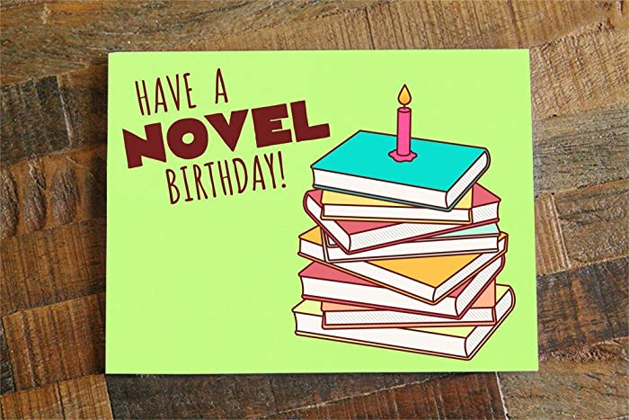 Amazon Book Lover Birthday Card For Readers And Bookworms