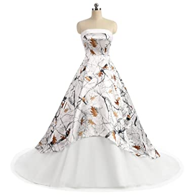 Camo Wedding Dresses Size 20-22