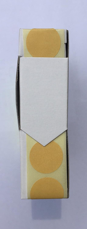 Avery Zweckform Schusspflaster 16 mm braun 10000 Stück Punkte Schuss-Pflasster