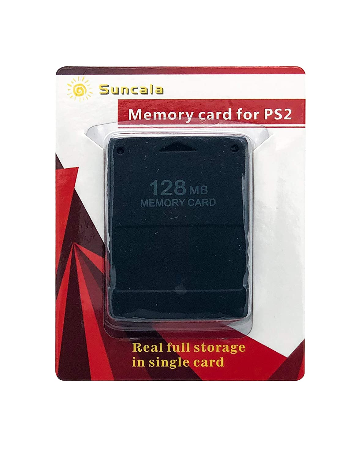 Suncala 128MB Memory Card for Playstation 2, High Speed Memory Card for Sony PS2