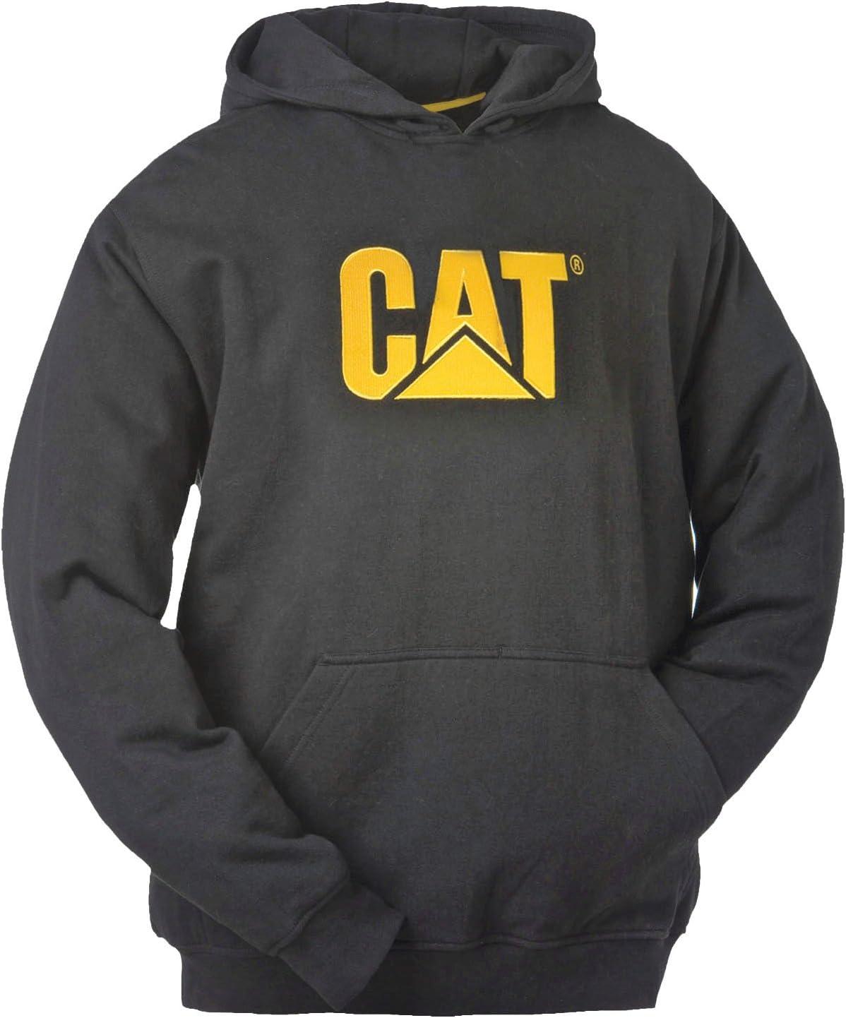 TALLA XXL. Caterpillar CAT Sudadera con capucha W10646-016-L negro Negro xx-large