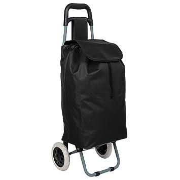 Chariot de marché uni noir - 117012 8jsQG