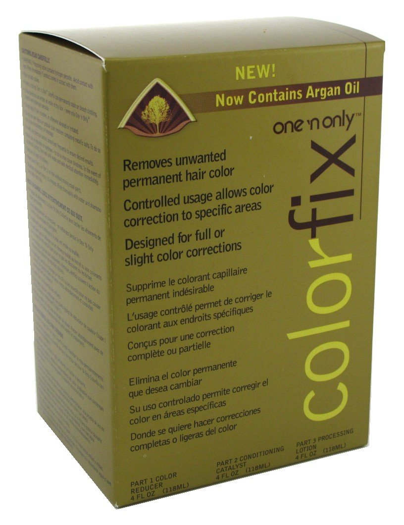 One N Only Colorfix Kit Permanent Hair Color Remover (2 Pack)