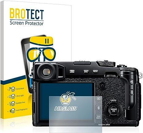 Schermo Protezione Durezza 9H brotect Pellicola Protettiva Vetro Compatibile con FujiFilm X-Pro3 Anti-Impronte 3 Pezzi AirGlass