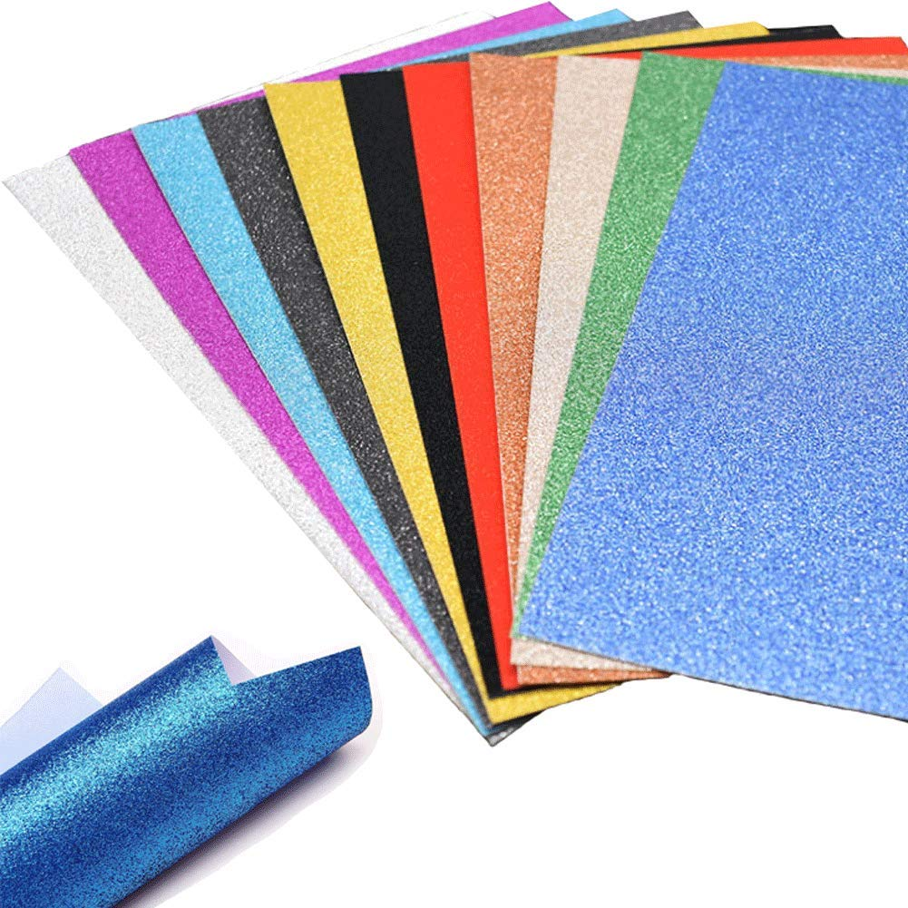Letter Writing Parties Glitter paper Handmade Recycled paper for Art Scrapbooking  16 sheets  3 x 4 Packaging Weddings Craft