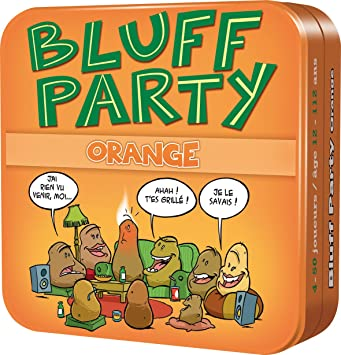 ASMODEE - Bluff Party - Orange Pack - Juego de mesa: Amazon.es ...