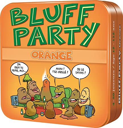 Asmodee CGBPO01 - Bluff Party - Orange