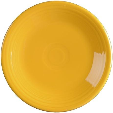 Amazon.com   Fiesta 7-1/4-Inch Salad Plate, Marigold: Salad Plates