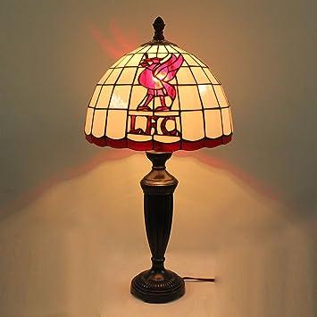 Lámpara de Mesa de Vidrio Estante Liverpool F.C. de 12 ...