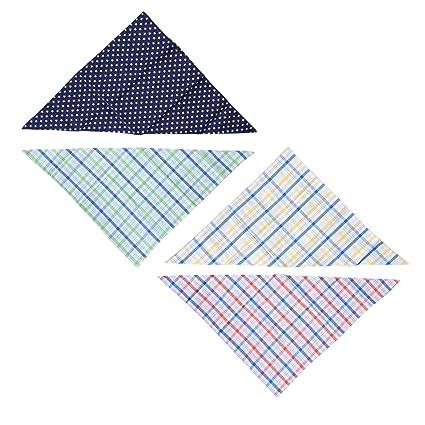 UKCOCO Pañuelo ajustable de la toalla de la saliva de la bufanda del pañuelo del pañuelo