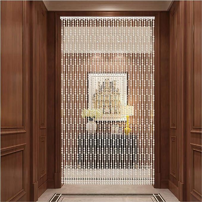 GuoWei-Cortinas de Cuentas Cristal Vaso Puerta Cortina Tabique Colgando Cuerdas Armario Salón Decoración, Personalizable (Color : B, Size : 20 strands-60x120cm): Amazon.es: Hogar