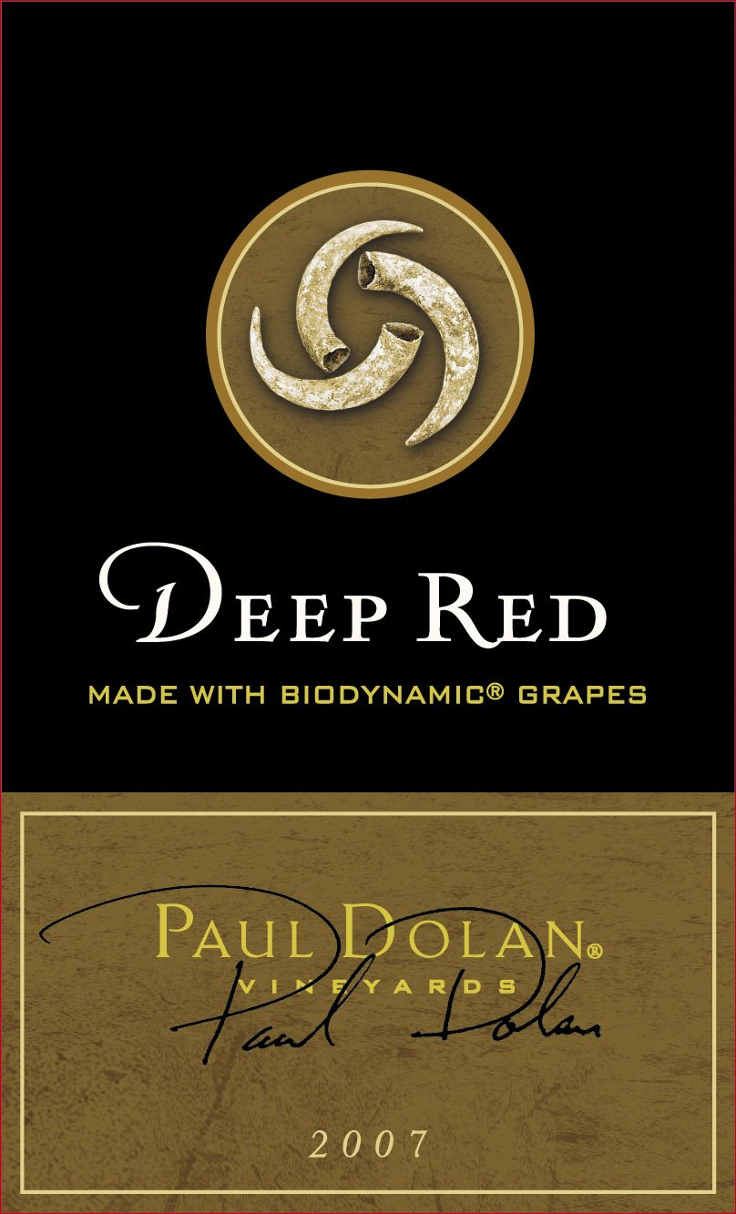 2007 Paul Dolan Vineyards Library Deep Red Blend Mendocino County 1.5L Wine