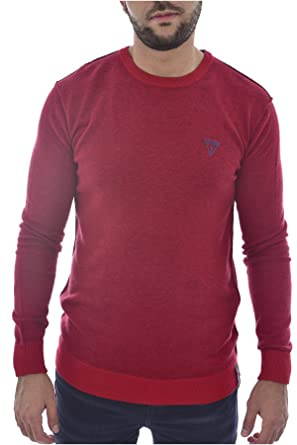 Guess Pull Réversible U84r01 Z1od0 Jeans  Amazon.fr  Vêtements et  accessoires 0d7e1753bf5