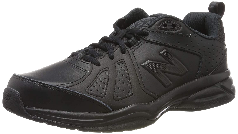 Noir (noir noir noir noir) New Balance 624v5, Chaussures de Fitness Homme 42.5 EU (Width D - Standard)