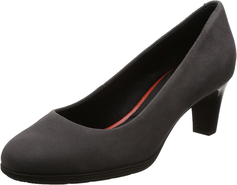 TALLA 36 EU. NUEVO mujer gris Rockport TOTAL movimiento moderno Zapatos de salón - Gris - GB Tallas 3-8.5