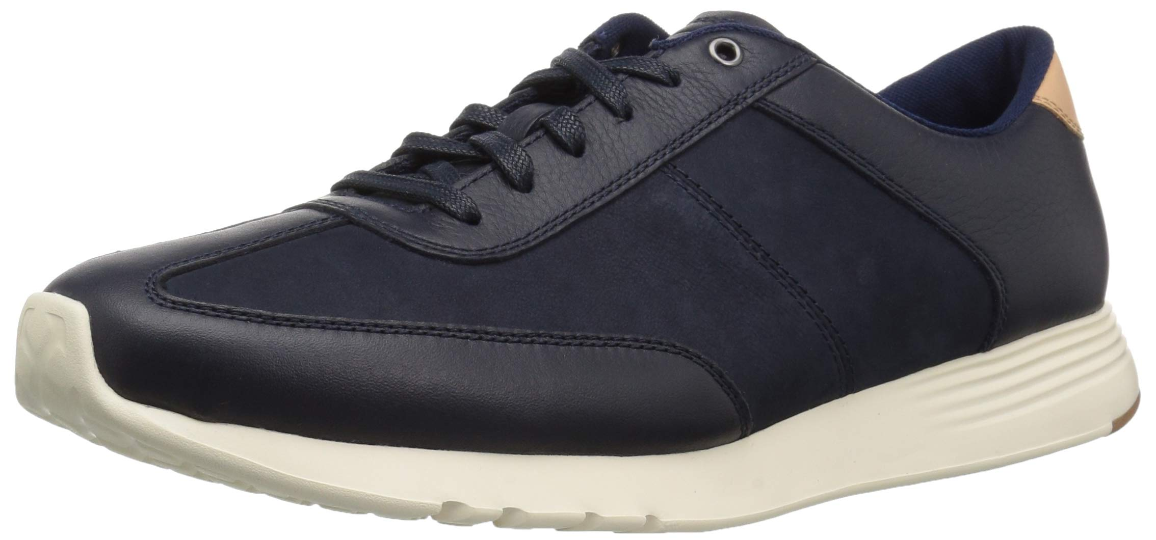Cole Haan Men's Grand Crosscourt Runner Sneaker Marine Blue Leather/Nubuck 9.5 M US
