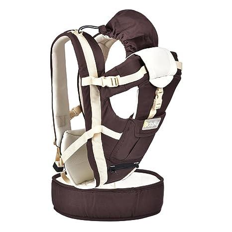 upgrow Baby Carrier eslingas seguridad bebé delantera y trasera portador infantil mochila Wrap arnés con capucha