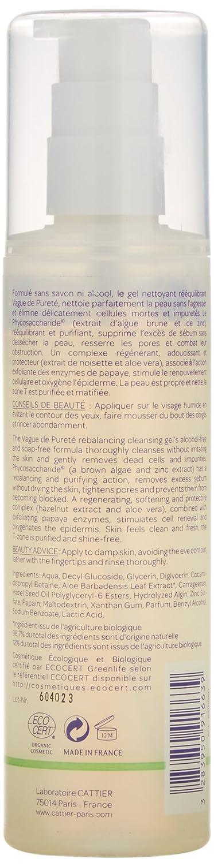 Cattier Gel Limpiador Reequilibrante Vague de Pureté - 200 ml