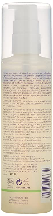 Cattier Gel Limpiador Reequilibrante Vague de Pureté - 200 ml