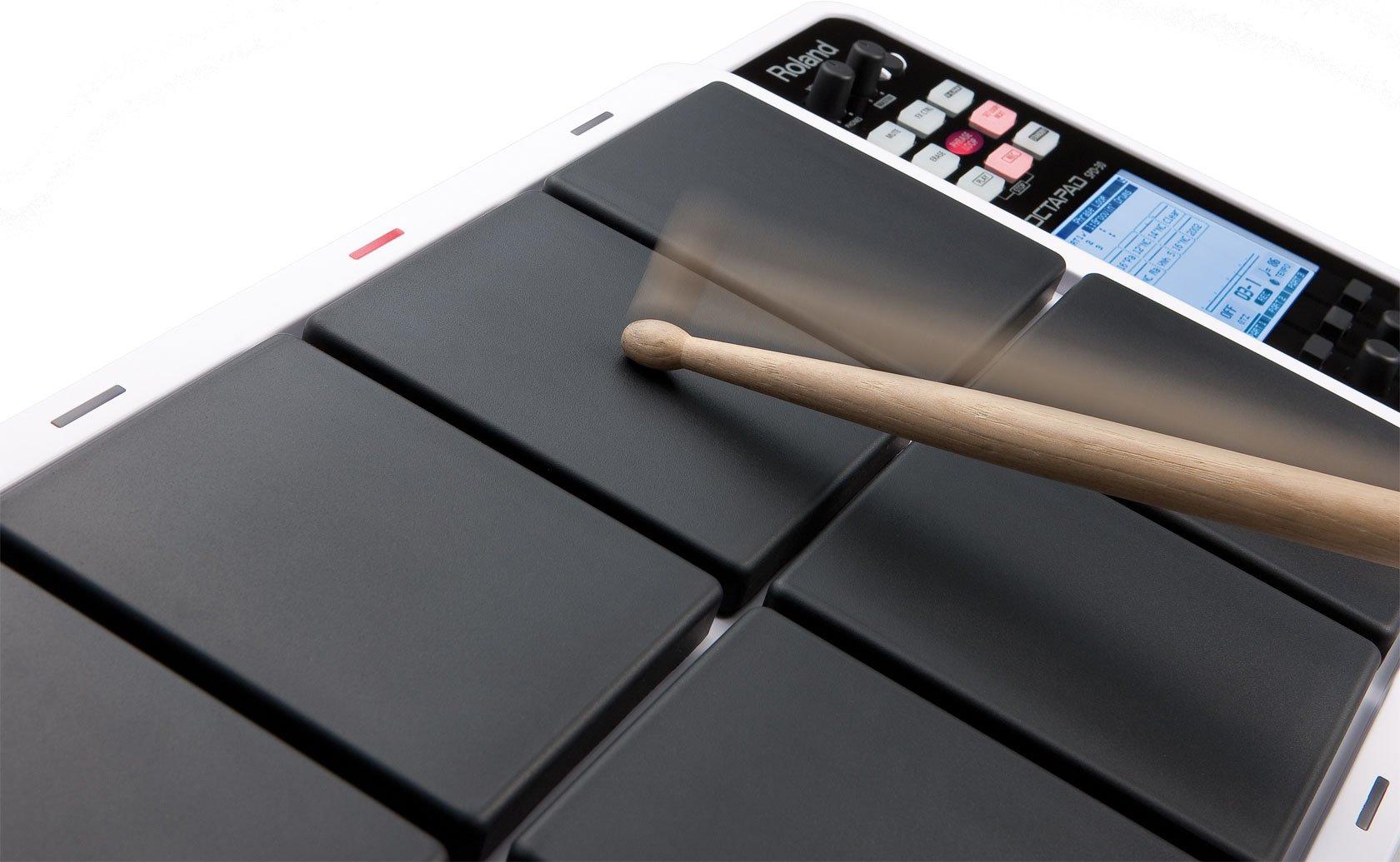 Roland OCTAPAD Digital Percussion Pad, black (SPD-30-BK) by Roland (Image #4)