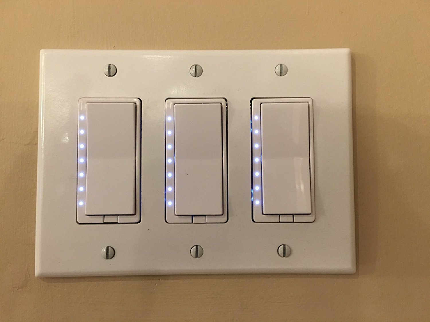 Zwp Z Wave Plus In Wall Smart Light Dimmer Switch With