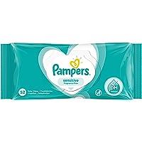 Pampers Sensitive - Babydoekjes Voor De Gevoelige Huid, Geurvrij - 1 x 52 Doekjes