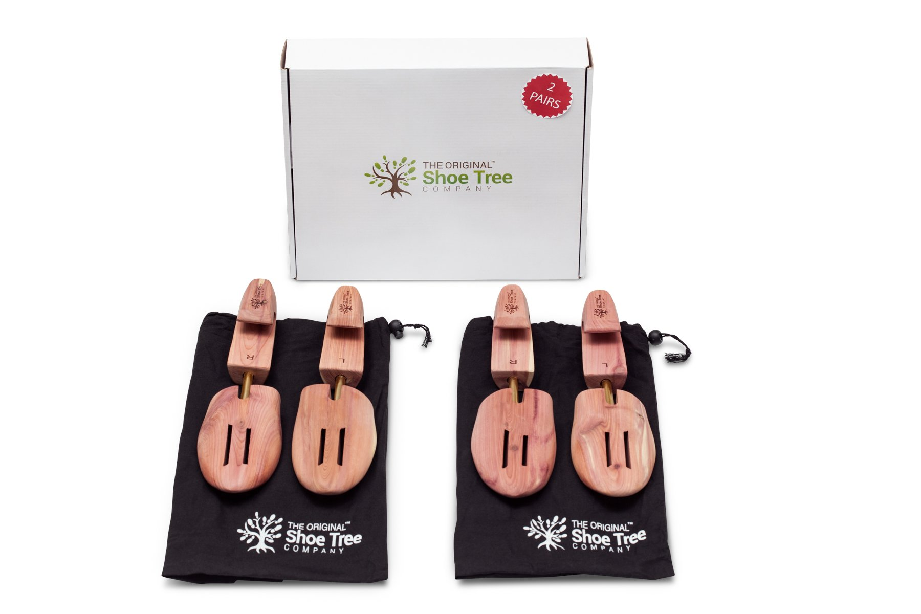 The Original Shoe Tree Company Fresh Cedar Shoe Tree 2-pack (for 2 pairs of shoes) Medium by The Original Shoe Tree Company (Image #2)