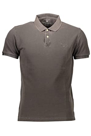 Gant Sun Bleached Pique Polo Shirt Marrón Oscuro XXL: Amazon.es ...