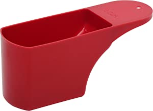 Roots & Branches Two-Cup Measuring Scoop, Red
