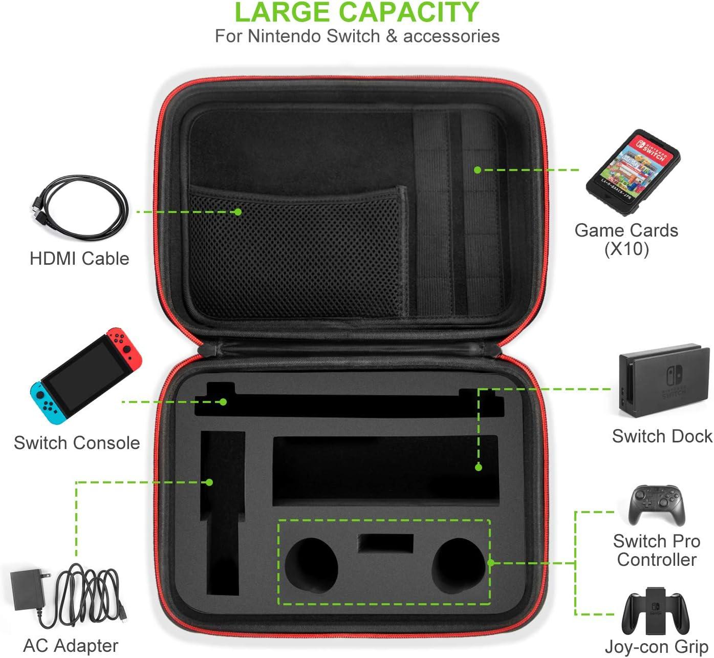 Funda para Nintendo Switch – Younik Estuche dura de transporte de ...