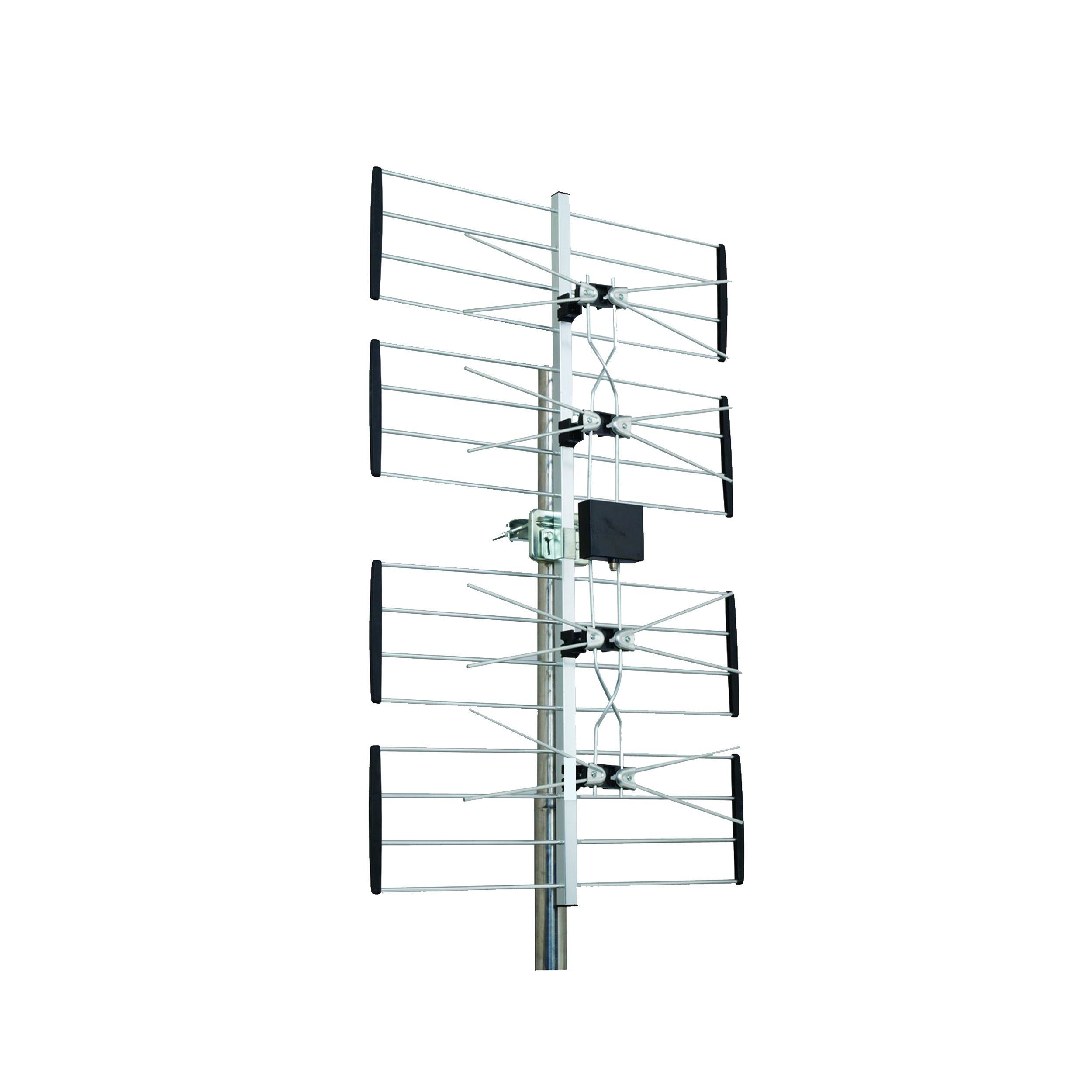 Homevision Technology ANT2085 Digiwave Outdoor 4 Bay HD TV Digital Antenna, Silver