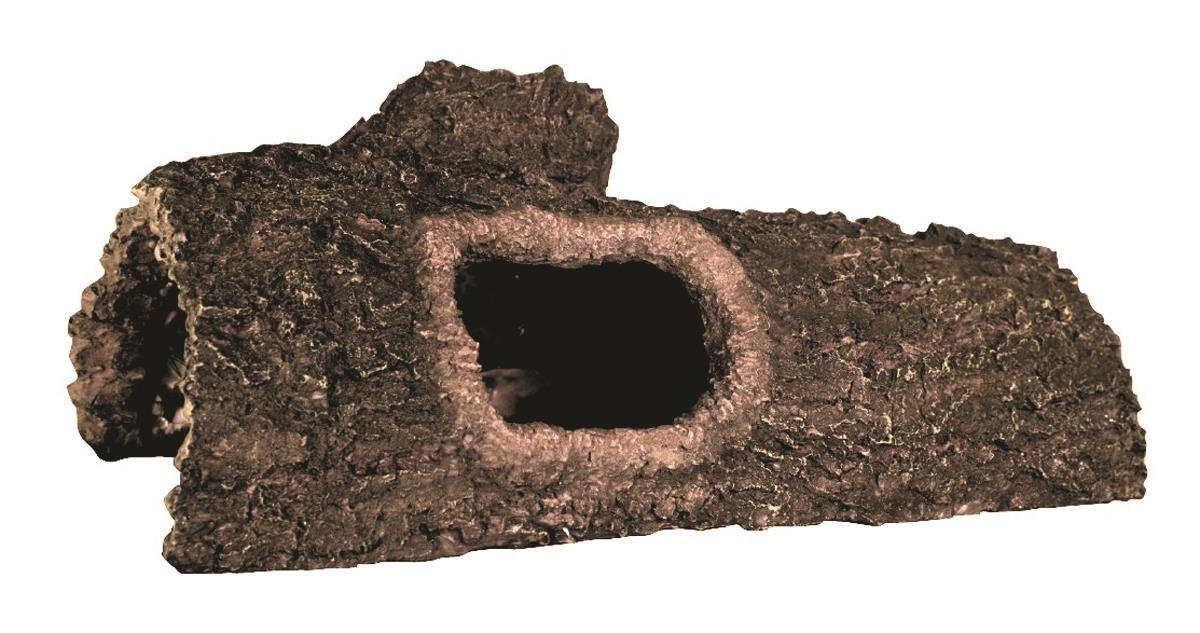 Zilla Reptile Habitat Décor Hideouts Bark Bends, Large