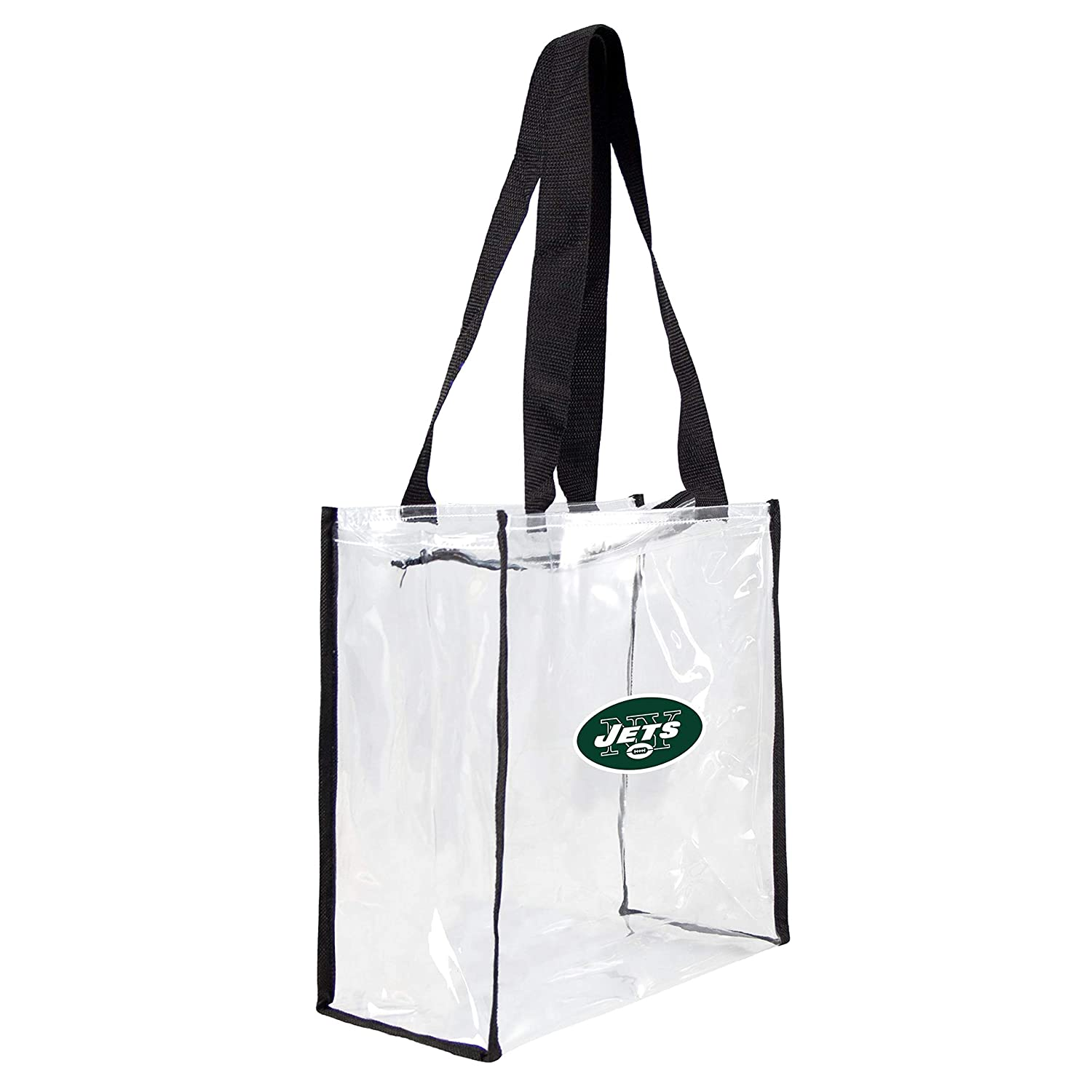 NFL New York Jets Clear Square Stadium Tote