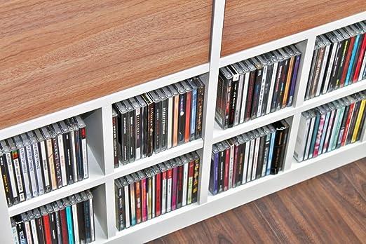 CD Uso Para IKEA Expedit – Estantería (Color Blanco)
