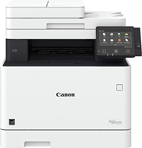 Canon Color imageCLASS MF733Cdw – All in One, Wireless, Duplex Laser Printer Comes with 3 Year Limited Warranty , Amazon Dash Replenishment Ready
