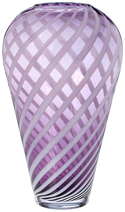 Evolution By Waterford Urban Safari 15 Inch Striped Vase Amazon