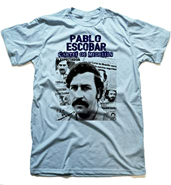 df6b968b Pablo Escobar T-shirt Colombian Drug King Pin King of Cocaina ...