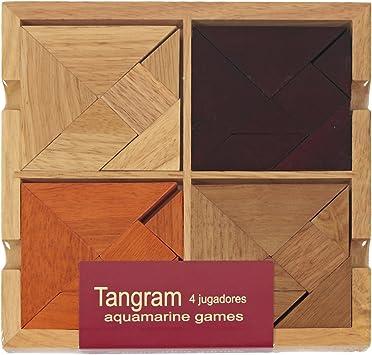 Tangram Bois 4 joueurs