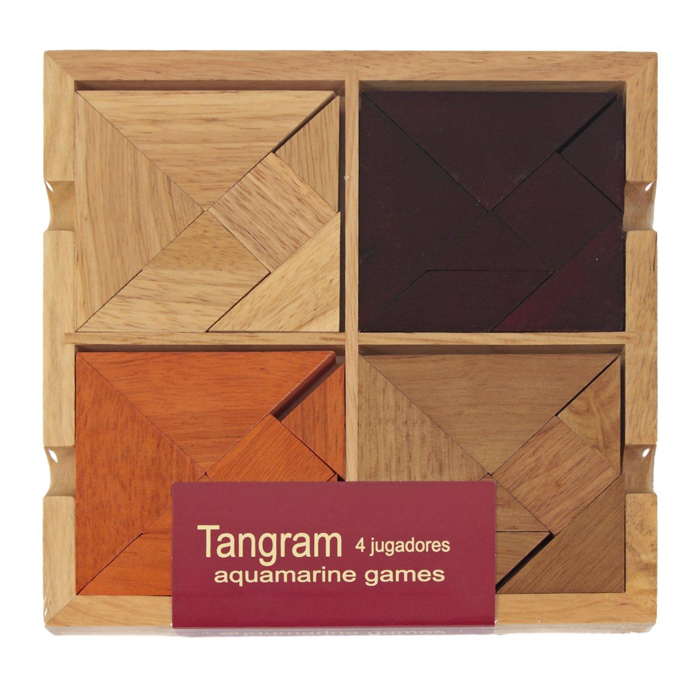 Aquamarine Games Tangram para jugadores juego de habilidad Compudid CP