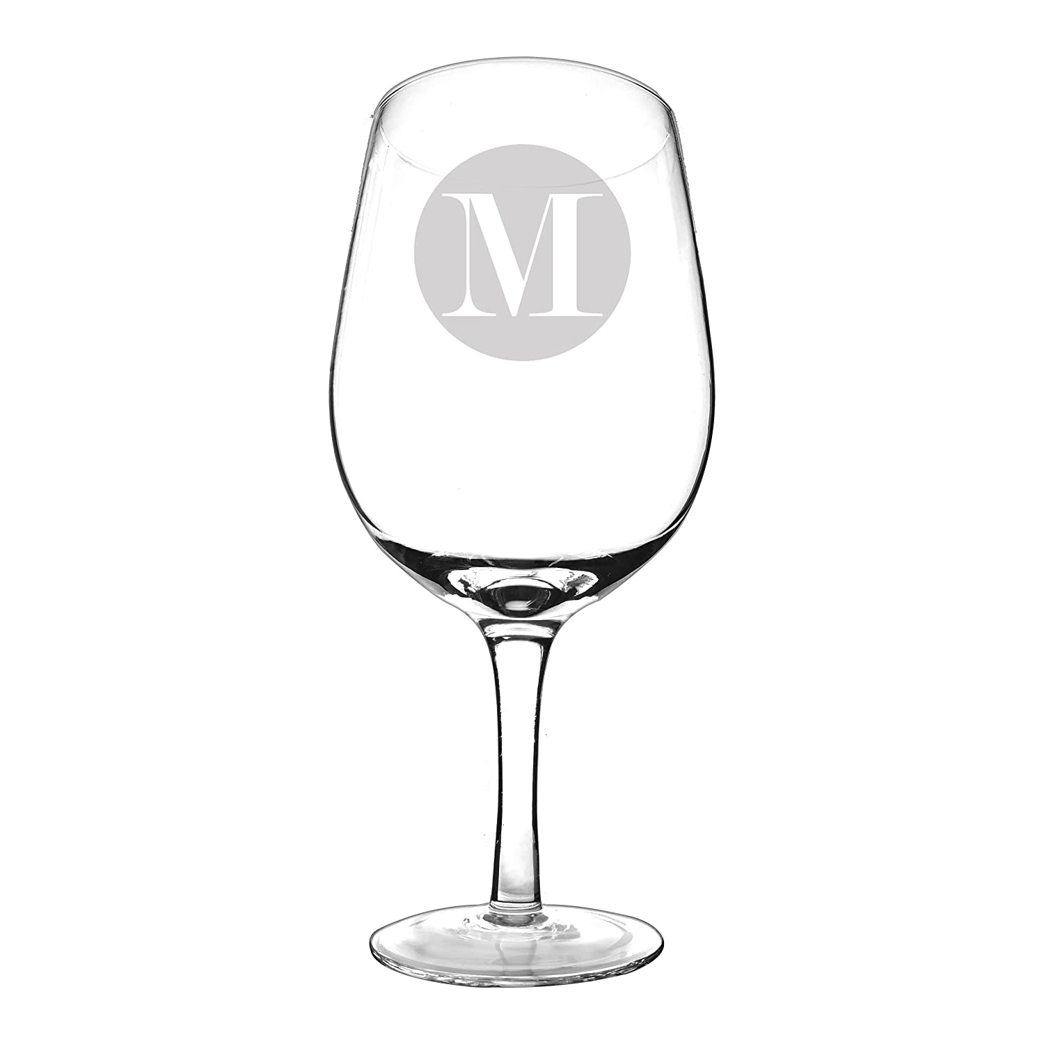 Cathy's Concepts Personalized XL Wine Glass, Letter S