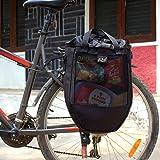 Cycliste Daily Use Pannier Bag (Black)