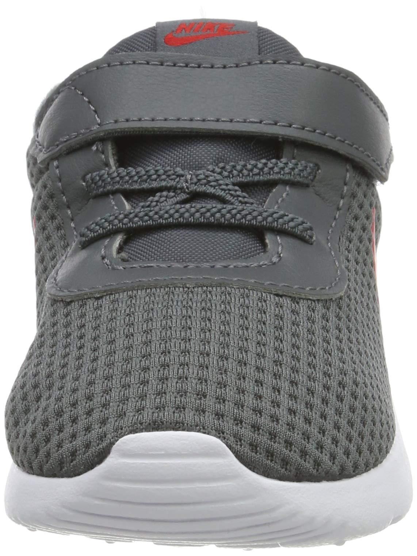Nike Kid's Tanjun Running Shoe (7 M US Toddler, Dark Grey/University Red/White) by Nike (Image #4)