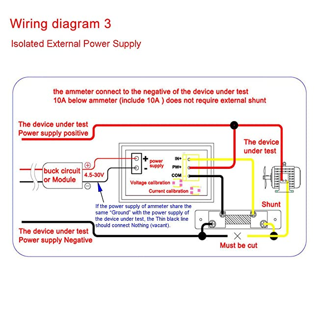 71PzAeCbqaL._SX648_ ammeter wiring diagram positive ground ground wire diagram positive ground wiring diagram at gsmx.co