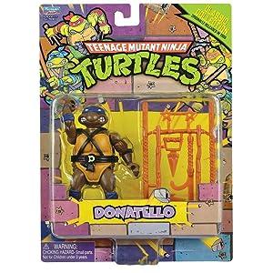 Teenage Mutant Ninja Turtles, Classic Collection, Leonardo Action Figure, 4 Inches