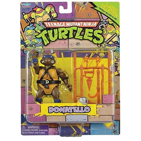 Teenage Mutant Ninja Turtles 2013 Retro Collection 4 Inch Action Figure Leonardo by Playmates