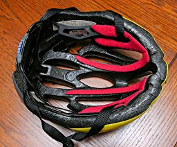 Amazon.com : Bell Ghisallo Replacement Bicycle Helmet Pads ...