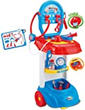 Vinsani Kids Doctor Set Medical Play Set Trolley Nurse Medic Role Pretend Play Set